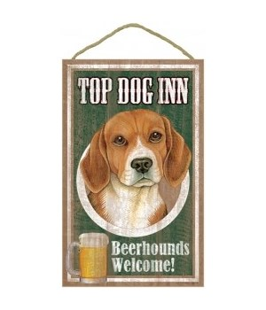 Top Dog Beerhound 10x16 Beagle
