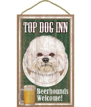Top Dog Beerhound 10x16 Bichon