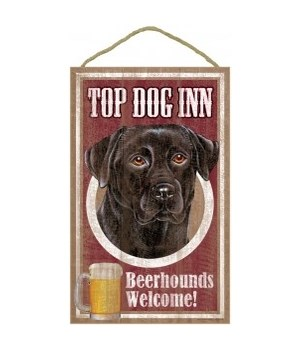 Top Dog Beerhound 10x16 Black Lab