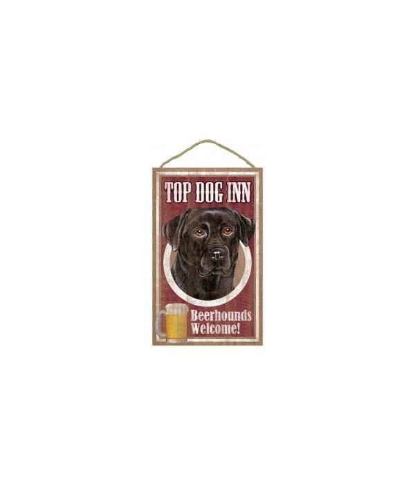 Top Dog Beerhound 10x16 Black Lab