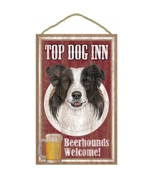 Top Dog Beerhound 10x16 Border Collie