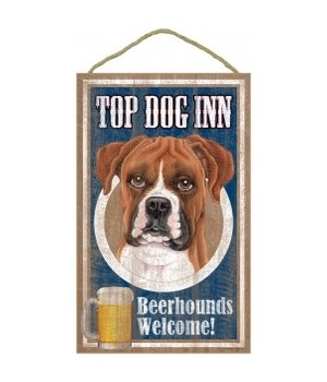 Top Dog Beerhound 10x16 Boxer (uncroppe