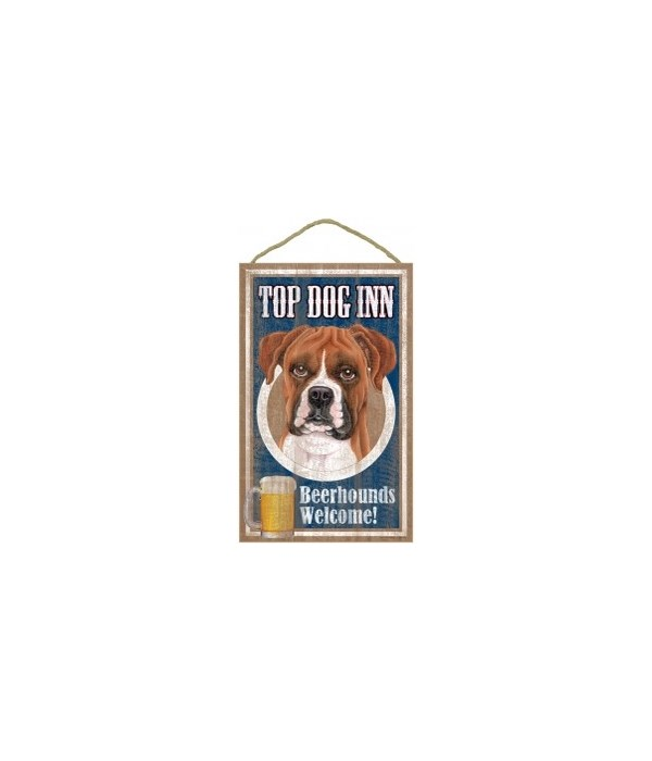 Top Dog Beerhound 10x16 Boxer (uncroppe
