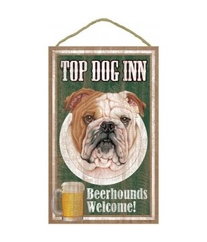 Top Dog Beerhound 10x16 Bulldog