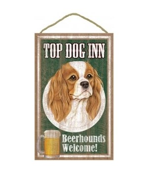 Top Dog Beerhound 10x16 Cavalier King