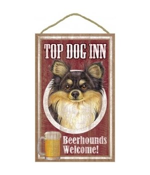Top Dog Beerhound 10x16 Chihuahua (blac
