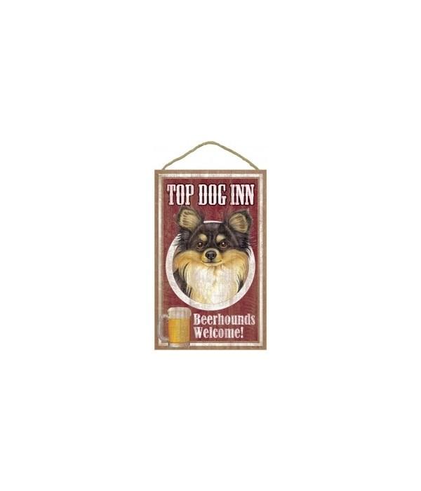 Top Dog Beerhound 10x16 Chihuahua (blac