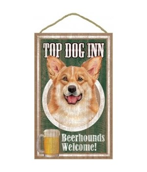 Top Dog Beerhound 10x16 Corgi
