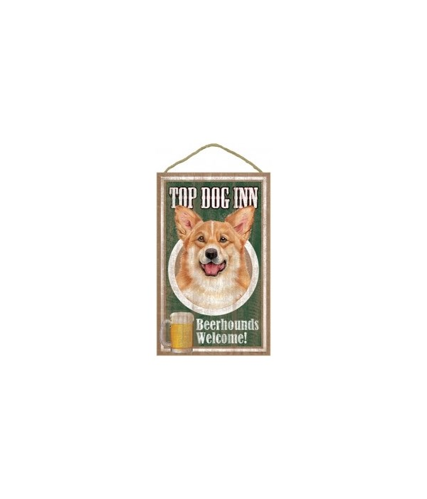 Top Dog Beerhound 10x16 Corgi