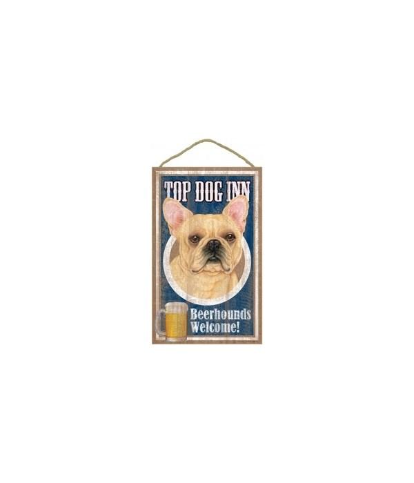 Top Dog Beerhound 10x16 French Bulldog