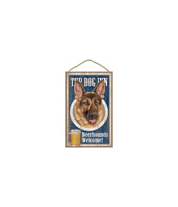 Top Dog Beerhound 10x16 German Shepherd