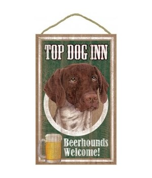 Top Dog Beerhound 10x16German Shrt Hair