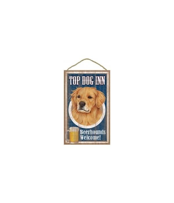 Top Dog Beerhound 10x16 Golden Retriver