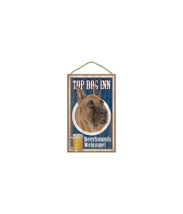 Top Dog Beerhound 10x16 Great Dane
