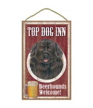 Top Dog Beerhound 10x16 Newfoundland