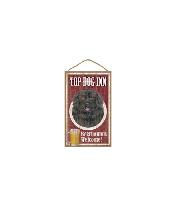 Top Dog Beerhound 10x16 Newfoundland