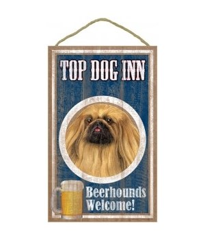Top Dog Beerhound 10x16 Pekinese