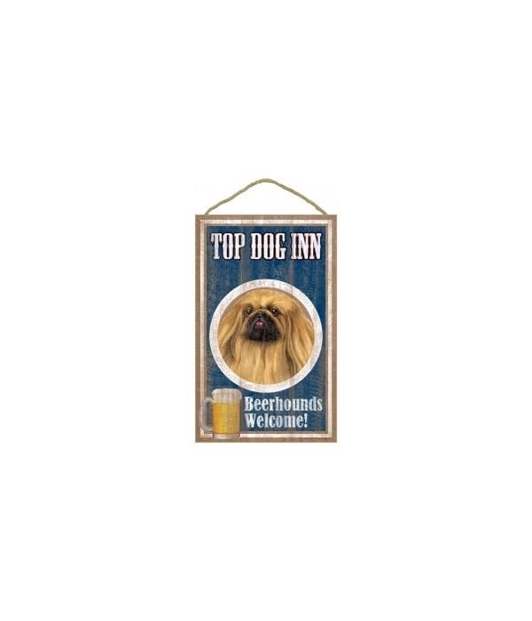Top Dog Beerhound 10x16 Pekinese