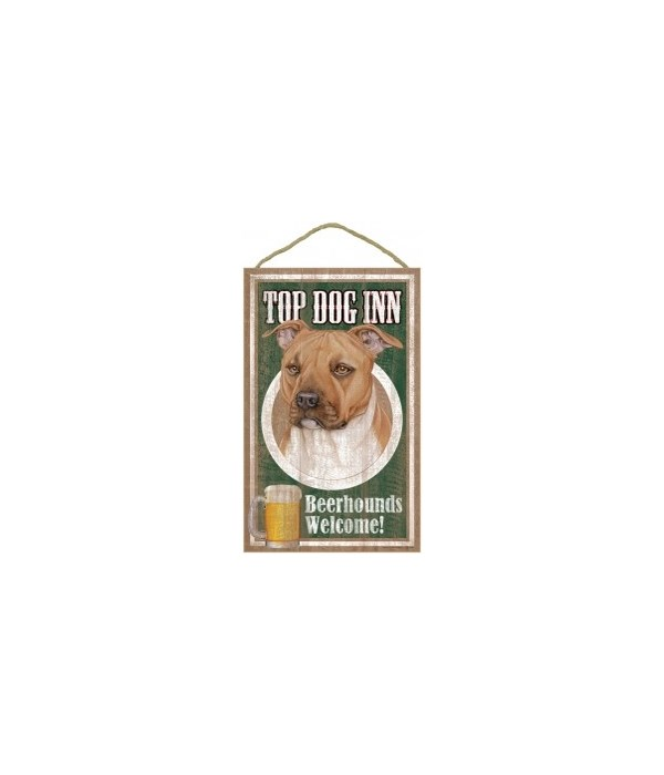 Top Dog Beerhound 10x16 Pitbull (Tan)