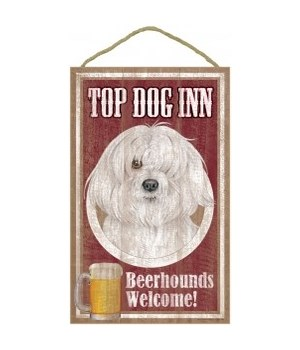 Top Dog Beerhound 10x16 Havanese