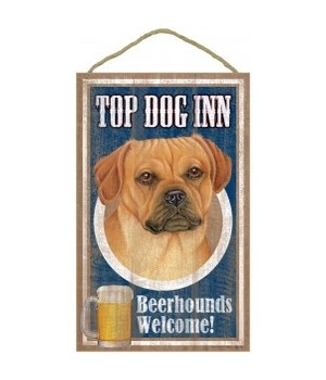 Top Dog Beerhound 10x16 Puggle