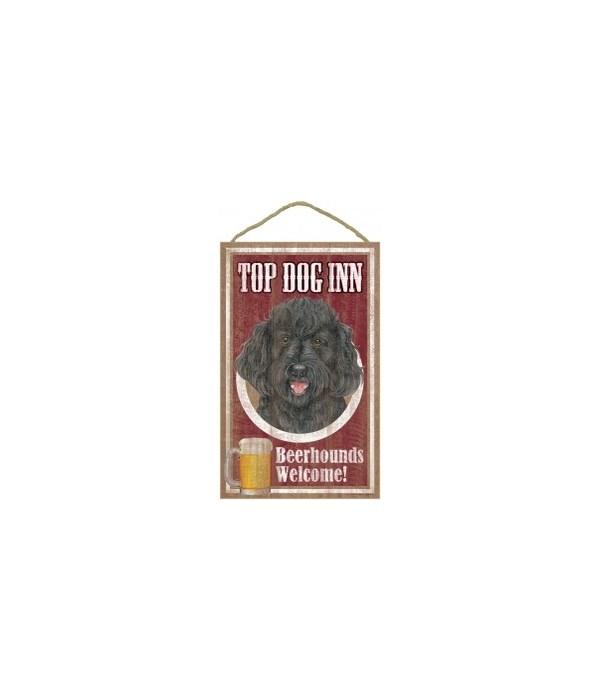 Top Dog Beerhound 10x16 Labradoodle Blk