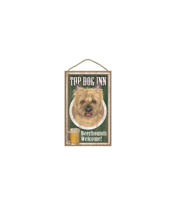 Top Dog Beerhound 10x16 Cairn Terrier Tn