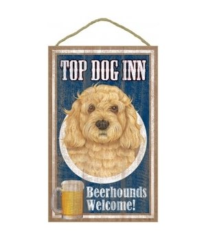 Top Dog Beerhound 10x16 Cockapoo