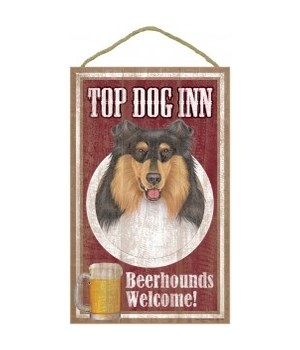 Top Dog Beerhound 10x16 Collie