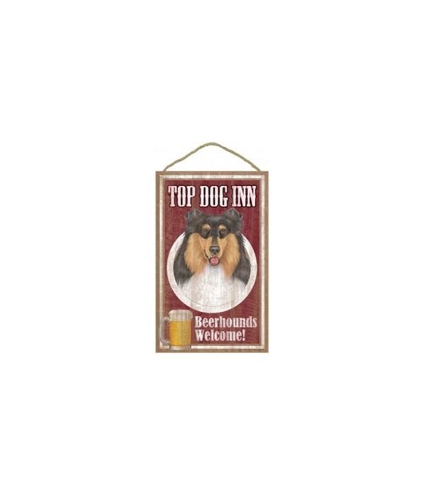 Top Dog Beerhound 10x16 Collie