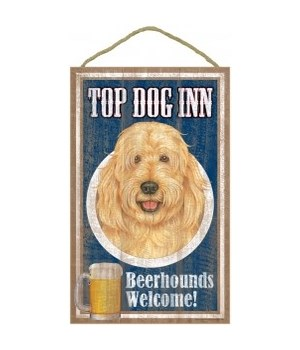 Top Dog Beerhound 10x16 Goldendoodle