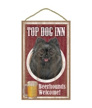 Top Dog Beerhound 10x16 Pomeranian