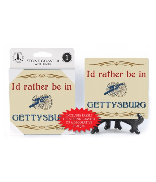 I'd Rather be in Gettysburg - Cannon in
