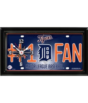 Detroit Tigers Clock (LPC-DT)