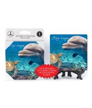 Key Largo - Dolphin and Sea Turtle