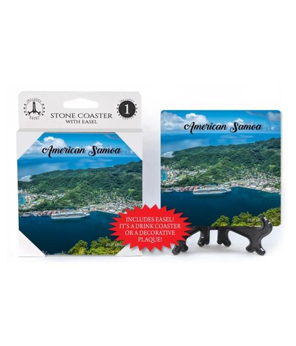 American Samoa - Flower Pot Rock in Amer