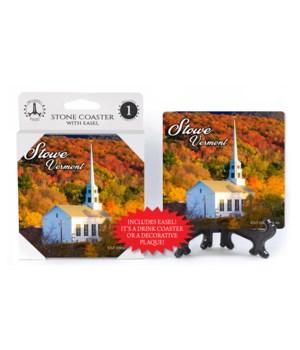 Stowe, Vermont - Community Church w/ fal