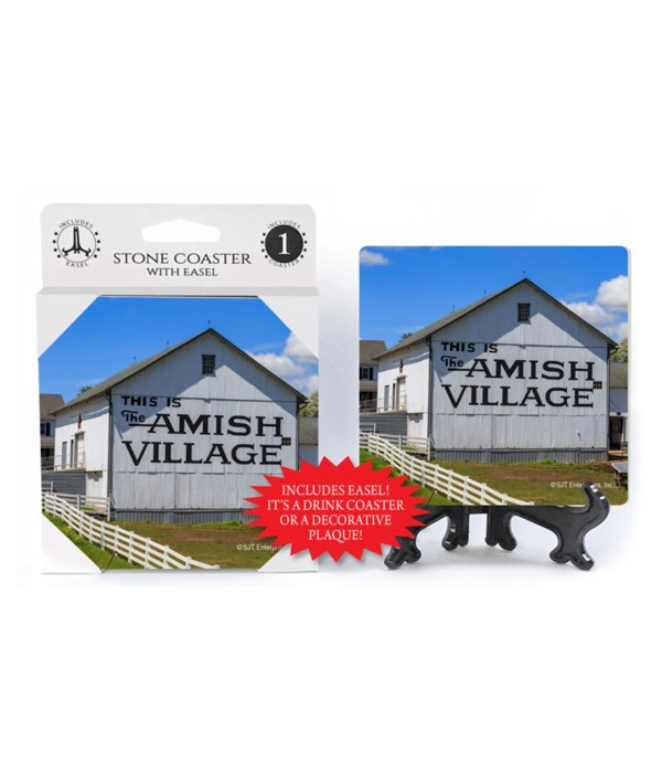 Amish Country - Amish Village barn Coast