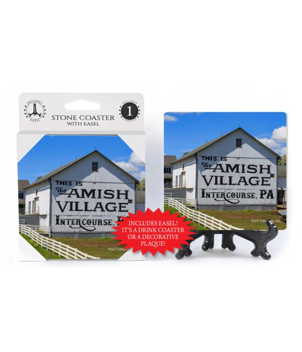 Intercourse, PA - Amish Village barn Coa