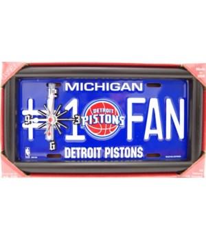 Detroit Pistons Clock