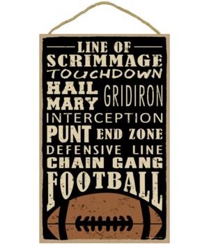 Football (word art) (football image) 10