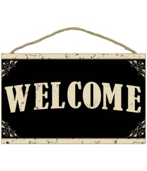 WOW Welcome Sign 10 x 16 sign