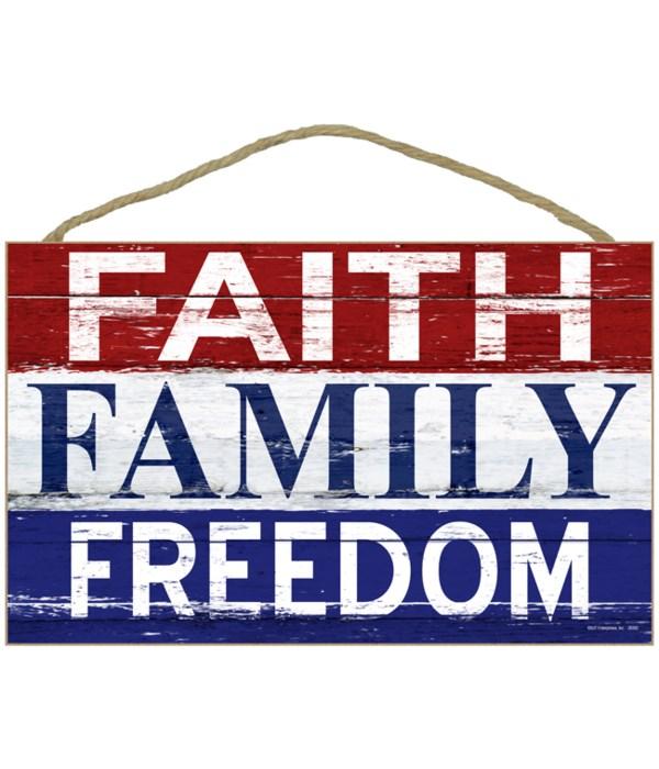 Faith - Family - Freedom (Horizontal)
