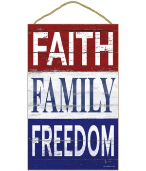 Faith - Family - Freedom (Vertical)