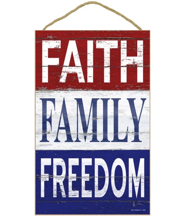 Faith - Family - Freedom (Vertical)