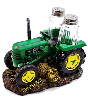 Tractor Salt & Pepper Set - 6.65""