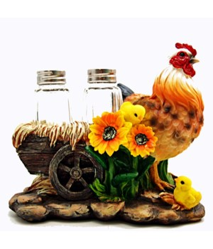 Hen With Chicks Salt & Pepper Set