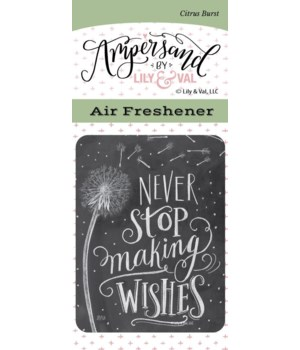 Making Wishes Air Freshener (Citrus Burs