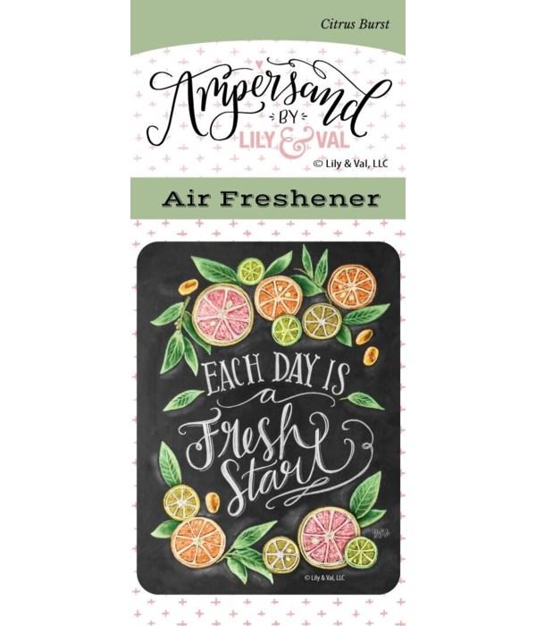 Fresh Start Air Freshener (Citrus Burst)