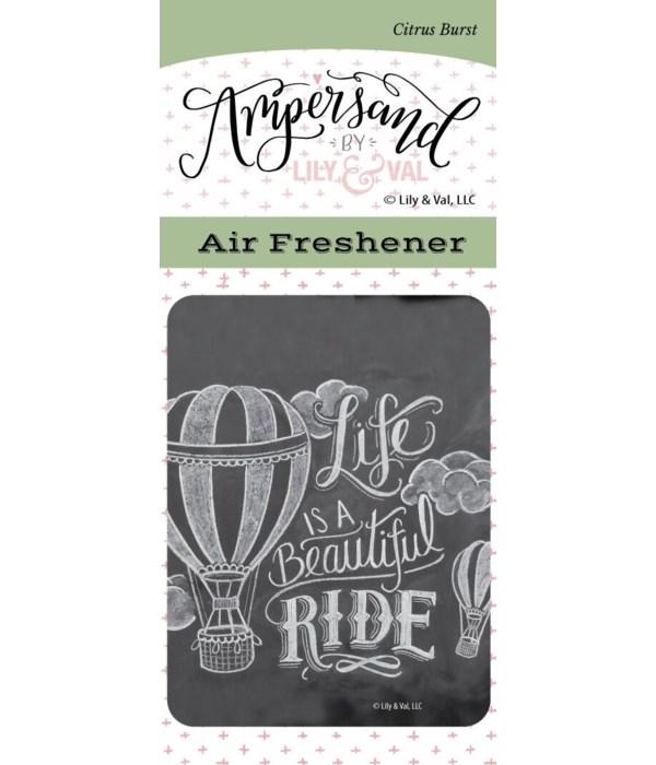 Beautiful Ride Air Freshener (Citrus Bur